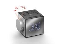 Sony ICF-C1PJ - Klokkeradio - 100 mW - sølv