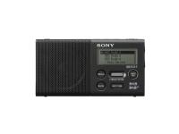 Sony XDR-P1DBP - Bærbar DAB-radio - 1.5 watt - svart