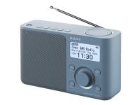 Sony XDR-S61D - Bærbar DAB-radio - blå