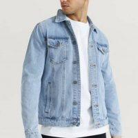 Studio Total Jeansjakke Favourite Denim Jacket Blå