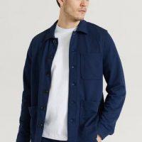 Studio Total Soft Overshirt Blå