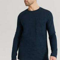 Studio Total T-Shirt Capsule LS Tee Blå