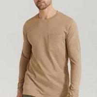 Studio Total T-Shirt Capsule LS Tee Brun