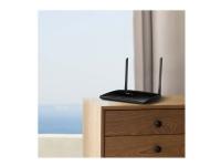 TP-Link TL-MR6400 4G LTE - V3 - trådløs ruter - WWAN - 4-portssvitsj - 802.11b/g/n - 2,4 GHz