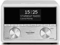 TechniSat DigitRadio 80, Digitalt, FM,DAB+, 87,5 - 108 MHz, 10 W, 3,5 mm, Hvit