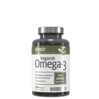 Vegansk Omega-3, 120 kapsler