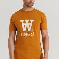 Wood Wood T-shirt Ace T-Shirt Brun