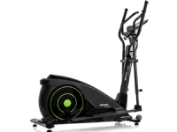 Zipro iConsole + Dunk electro-magnetic elliptical cross trainer, black and green