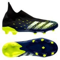 adidas Predator Freak .3 Laceless FG/AG Superlative - Sort/Hvit/Gul