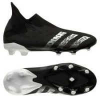 adidas Predator Freak .3 Laceless FG/AG Superstealth - Sort/Hvit