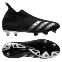 adidas Predator Freak .3 Laceless SG Superstealth - Sort/Hvit