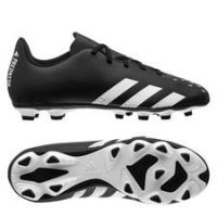 adidas Predator Freak .4 FG/AG Superstealth - Sort/Hvit Barn