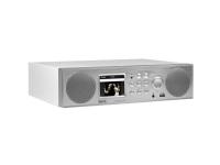 imperial Radio DABMAN i450 Internet/DAB+/UKW weiß-silber