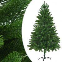 vidaXL Kunstig juletre livaktige nåler 180 cm grønn