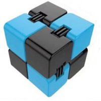 ABS Infinite Cube Anxiety Stress Relief Fidget Focus Adults Kids Attention Therapy Toys