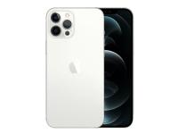 Apple iPhone 12 Pro Max - Smartphone - dobbelt-SIM - 5G NR - 128 GB - 6.7 - 2778 x 1284 piksler (458 ppi) - Super Retina XDR Display (12 MP-frontkamera) - 3x bakkamera - sølv