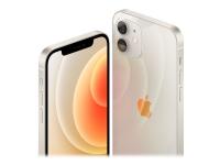 Apple iPhone 12 mini - Smartphone - dobbelt-SIM - 5G NR - 128 GB - 5.4 - 2340 x 1080 piksler (476 ppi) - Super Retina XDR Display (12 MP-frontkamera) - 2x bakkameraer - hvit