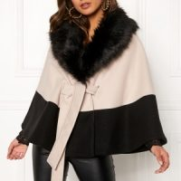 BUBBLEROOM Cornelia cape Black / Beige 34