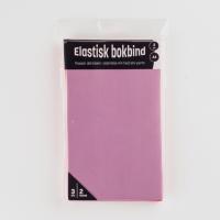 Bokbind elastisk 3pk rosa