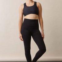 Boob Support Leggings, Black L/XL