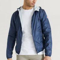 Colmar Bomberjakke Reversible Hood Nylon Jacket Blå