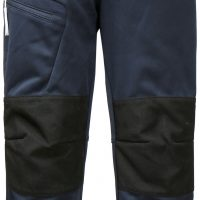 Didriksons Lövet Softshell Bukse, Navy, 130
