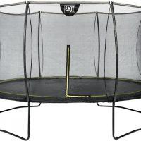 EXIT Trampoline Silhouette 366 cm, Svart