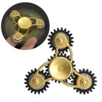 Gears Linkage Metal Fidget Hand Spinner Linkage ADHD EDC Anti Stress Focus Toy