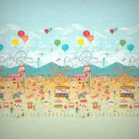 Harlequin Tapet, Life's A Circus Carousel