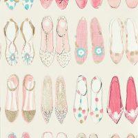 Harlequin Tapet, World At Your Feet
