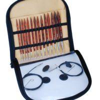 KnitPro Sett med utskiftbare rundpinner