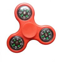 MATEMINCO EDC Tri-Fidget Hand Spinner with Compass Adult Toys