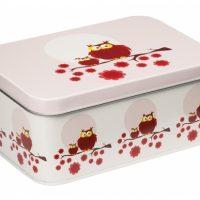 Matboks Ugle rød