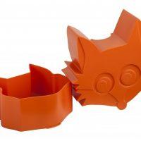 Matboks i plast mini Rev orange