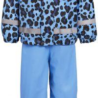 Nordbjørn Skagen Foret Regnsett, Blue Bonnet Leo, 98-104