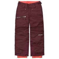Patagonia Dark Currant & Coral Snowbelle Ski Pants L (12 years)