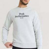Peak Performance Sweatshirt M Original Crew-ANTARCTICA Grå