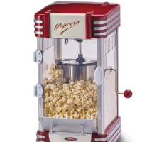 Popcornmaskin XL Ariete Party Time