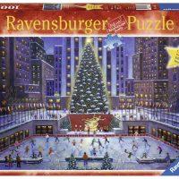 Puslespill 1000 Rockefeller New York Jul Ravensbur