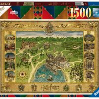 Puslespill 1500 Galtvort Kart Ravensburger