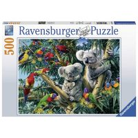 Puslespill 500 Koala I Treet Ravensburger