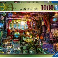 Ravensburger Puslespill Piratliv 1000 Brikker