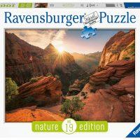Ravensburger Puslespill Zion Canyon USA 1000 Brikker