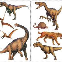 RoomMates Wallstickers Dinosaurs