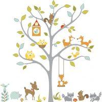 RoomMates Wallstickers, Happi-Woodland Fox & Friends