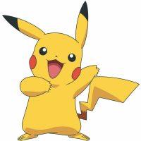 RoomMates Wallstickers Pokemon Pikachu