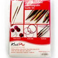 Rundpinner KnitPro 4-6 mm, 3-pk