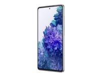 Samsung Galaxy S20 FE - Smarttelefon - dobbelt-SIM - 4G LTE - 128 GB - microSD slot - 6.5 - 2400 x 1080 piksler (407 ppi) - Super AMOLED - RAM 6 GB (32 MP-frontkamera) - 3x bakkamera - Android - skyhvit