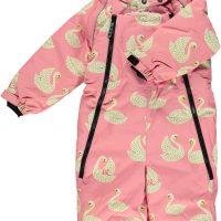 Småfolk Dress, Winter Pink 1-2 år