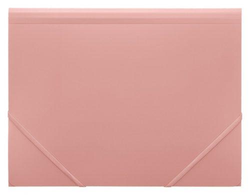 Strikkmappe FOLDERMATE PP A4 rosa